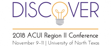 """ACUI Region II Conference """"Discover"""" logo"""
