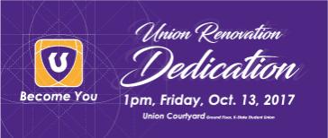 Union Renovation Dedication
