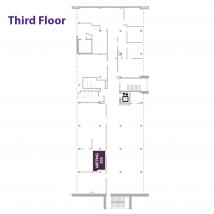 303 3rd floor map