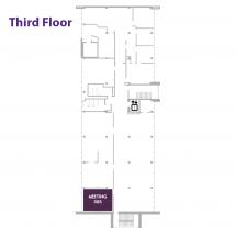 305 3rd floor map