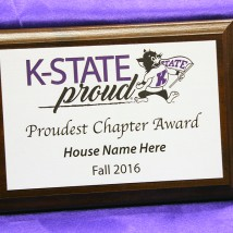 K-State Proud plaque