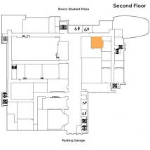 Bernard J. Pitts Conference Room – Map