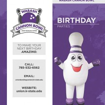 Birthday Party Brochure