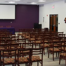 Bluemont Room set up lecture style