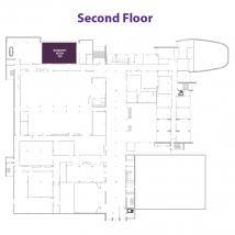 Bluemont Room on floor map