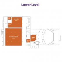 Wabash Cannon Bowl / Union Bowling Center – Map