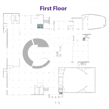 Call Hall at the Union on floor map