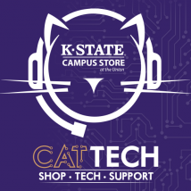 K-State Campus Store CatTech logo