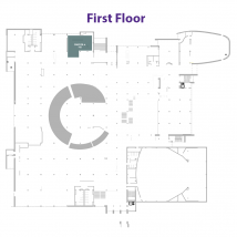 Chick-fil-A on floor map