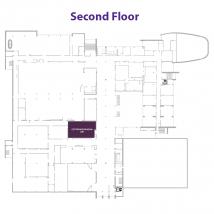 Cottonwood Room on floor map