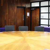 Bernard J. Pitts Conference Room round table