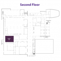 Flint Hills Room on floor map