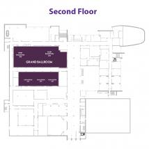 Grand Ballroom on floor map
