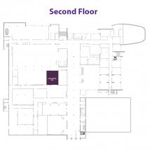 K Ballroom on floor map