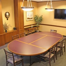 The Konza Room with conference table