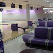 Bowling Center lanes and seating