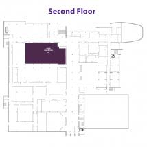 Main Ballroom on floor map