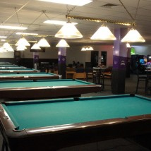 Bowling Center billiards table