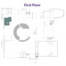 QDOBA on floor map