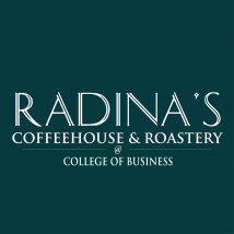 Radina's at College of Business logo