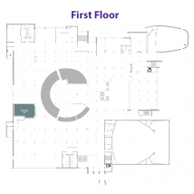 The Salad Spot on floor map