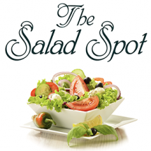 The Salad Spot text and salad bowl image