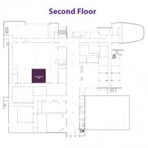 S Ballroom on floor map