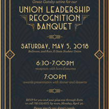 Union Leadership Banquet Invitation
