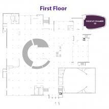 Wildcat Chamber on floor map