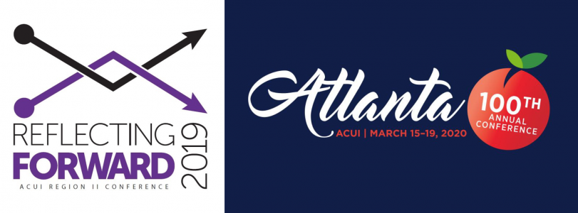 ACUI regional and national conference logos