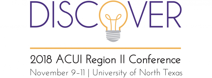 "ACUI Region II Conference ""Discover"" logo"