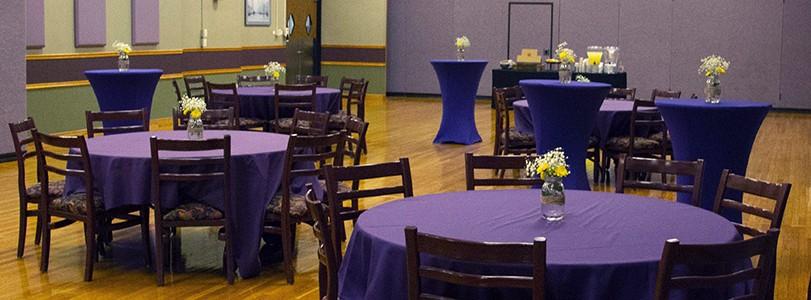 KS Ballroom reception setup