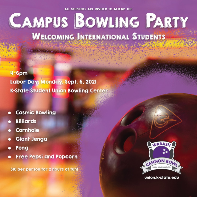 Campus Bowling Party