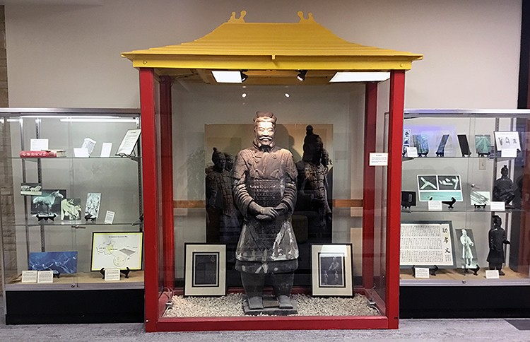 Chinese Warrior Exhibit