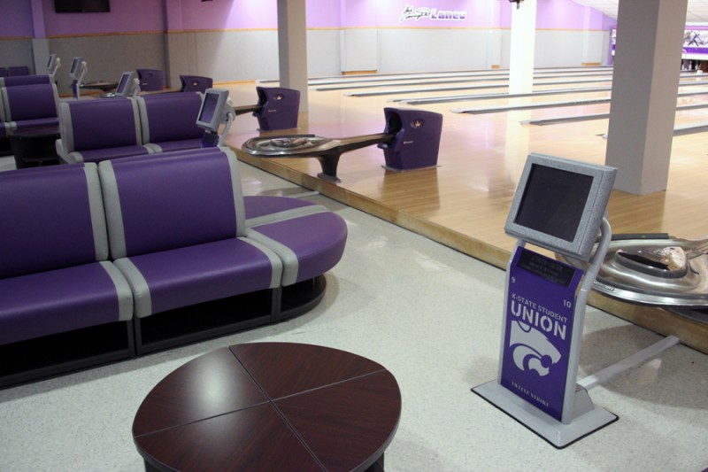 ... Bowling Center Lanes And Seating ...