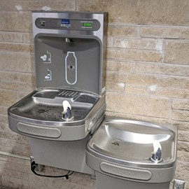 water bottle filling station in Union