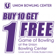 Bowling Center Loyalty Card